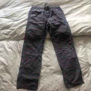 Gap Pajama Pants Hearts size M